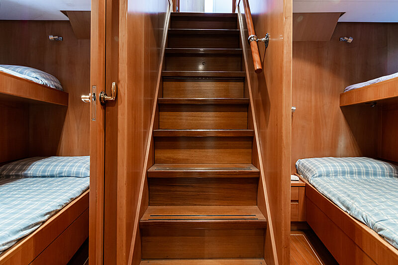 Tex yacht staircase