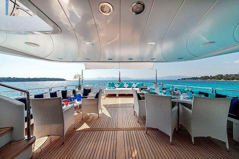 Bang! yacht deck