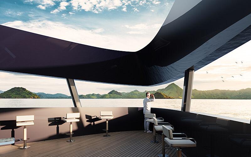 Damen SeaXplorer 105 yacht concept exterior design