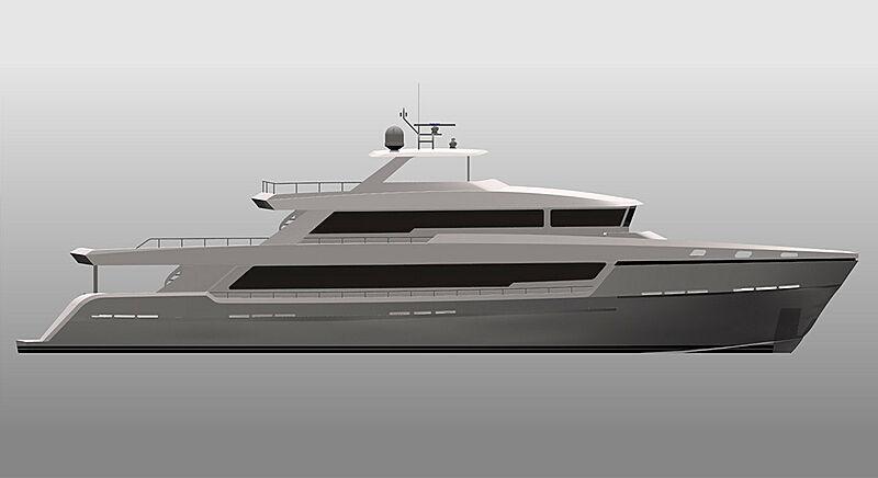 Lorraine yacht conversion project exterior design