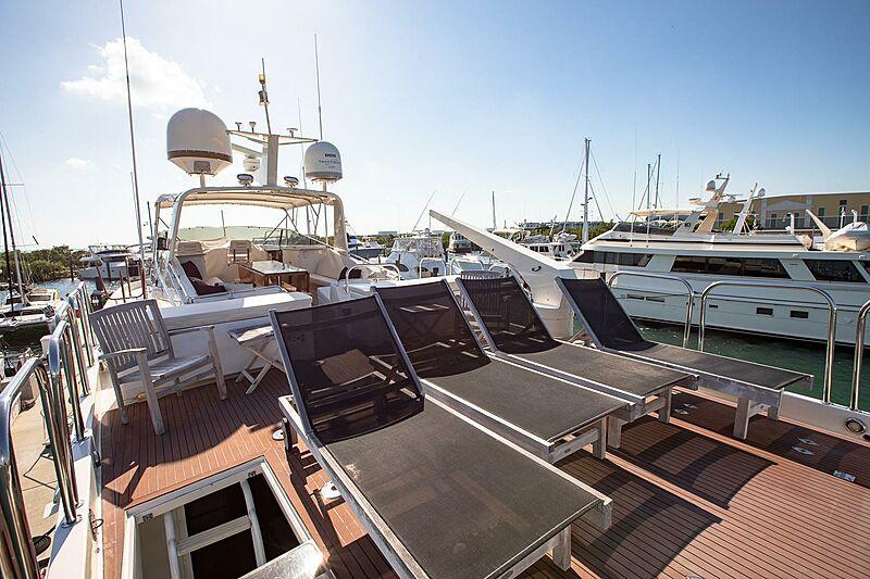 Catchin' Moments yacht sun deck
