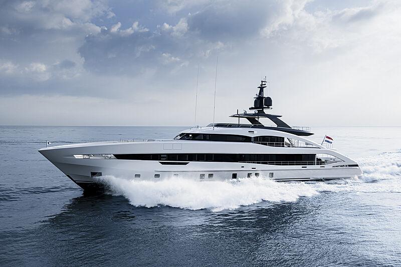 Aquamarine yacht