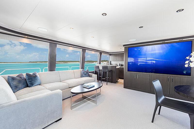 No Bad Ideas yacht skylounge