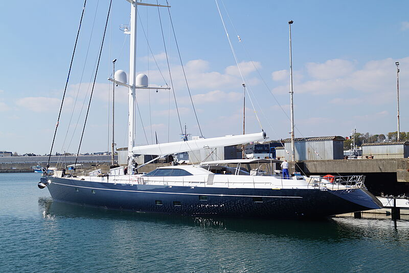 Guillemot yacht relaunched