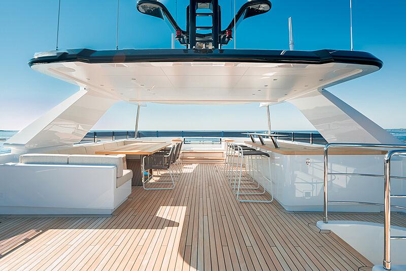 Astrum yacht sundeck