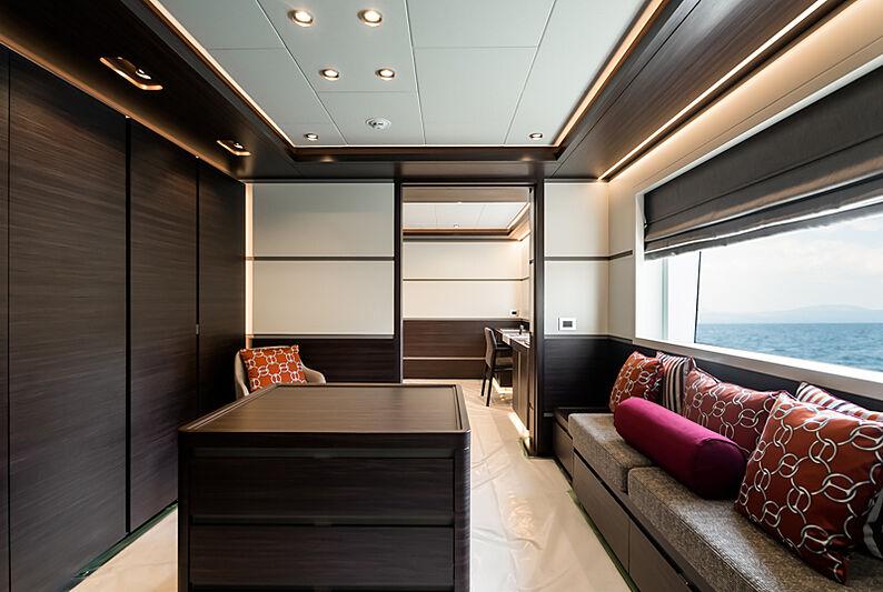 Astrum yacht study room