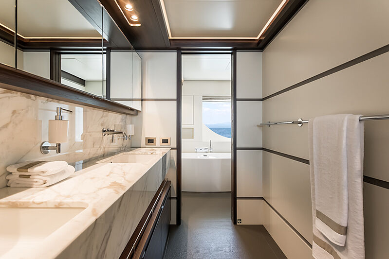 Astrum yacht master bathroom