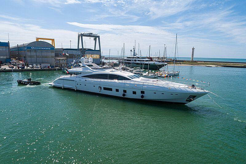 Mangusta 165/14  yacht launch in Viareggio