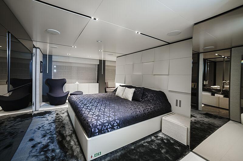 December Six yacht stateroom