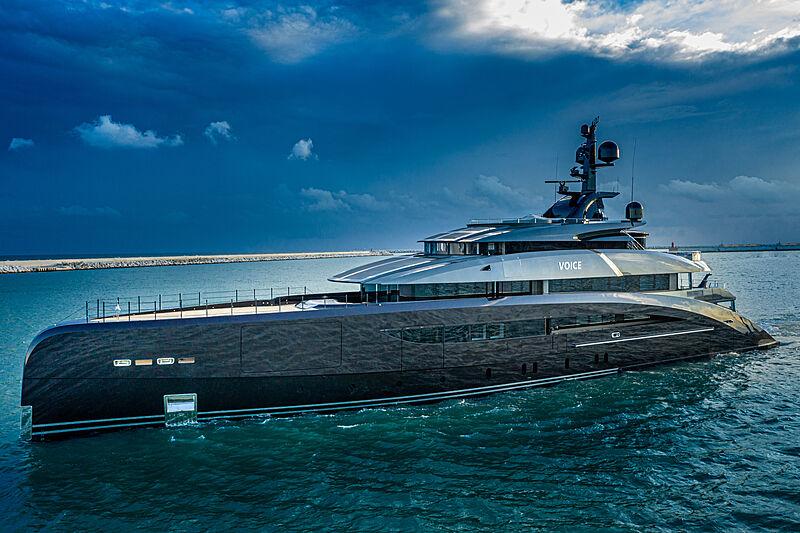 Voice yacht cruising