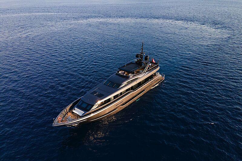 Sea Star yacht cruising