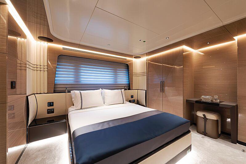 Sea Star yacht stateroom