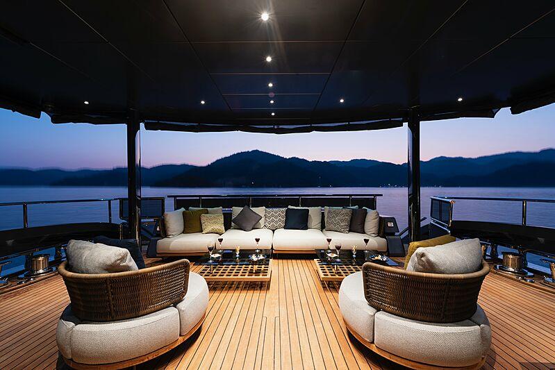 Sea Star yacht deck