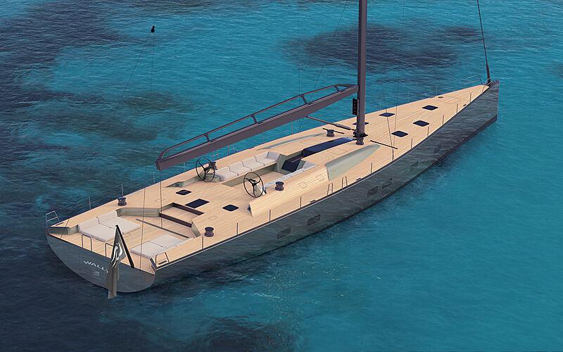 Wally 101 yacht exterior design