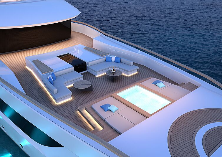 Feadship Project 2024 exterior design