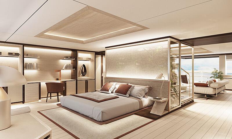 Feadship Project 2024 interior design