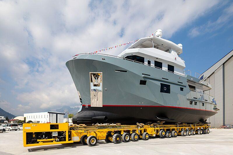 Bering B77 Veronika launch in Antalya