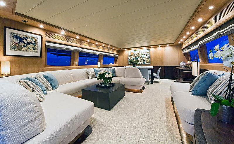Asha yacht saloon