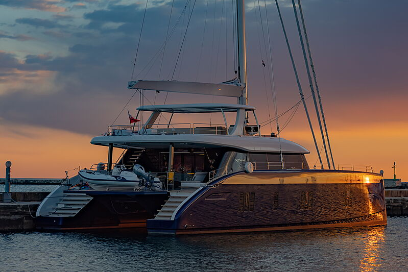 Fantastic Too yacht in marina