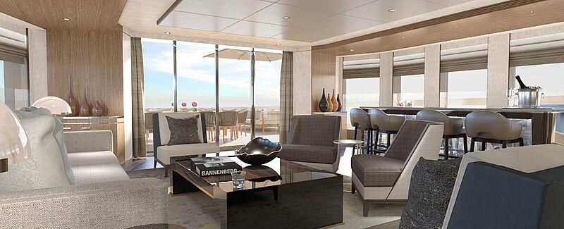 Moskito yacht interior design