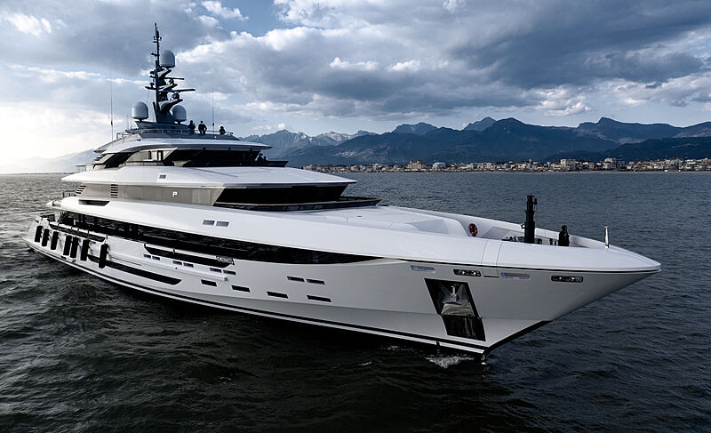 Polaris yacht by Rossinavi in Viareggio