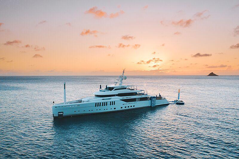Seasense yacht anchored in Saint Barthelemy