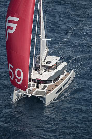 Samana yacht by Fountain Pajot