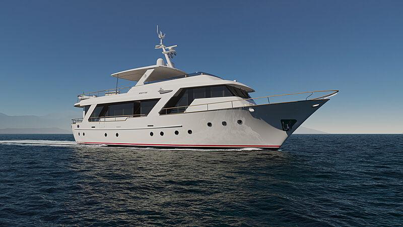 AF yacht exterior design