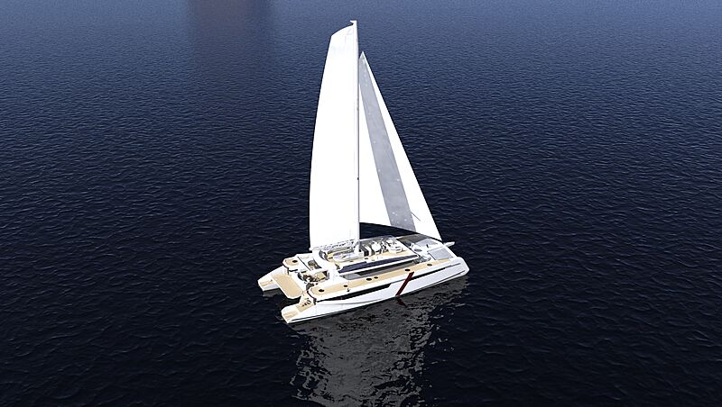 Corellian 110' Catamaran concept exterior design