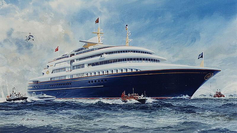 Royal yacht Britannia yacht exterior design