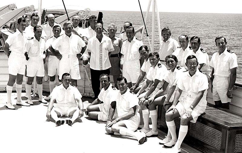 Royal yacht Britannia crew