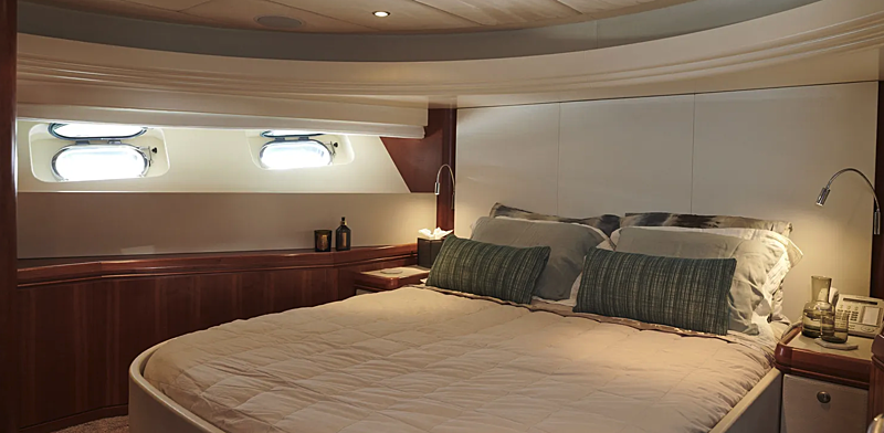 Willow yacht stateroom