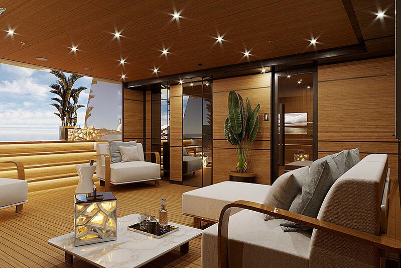 Project Gemini interior design