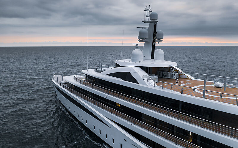 Viva yacht by Feadship sea trials