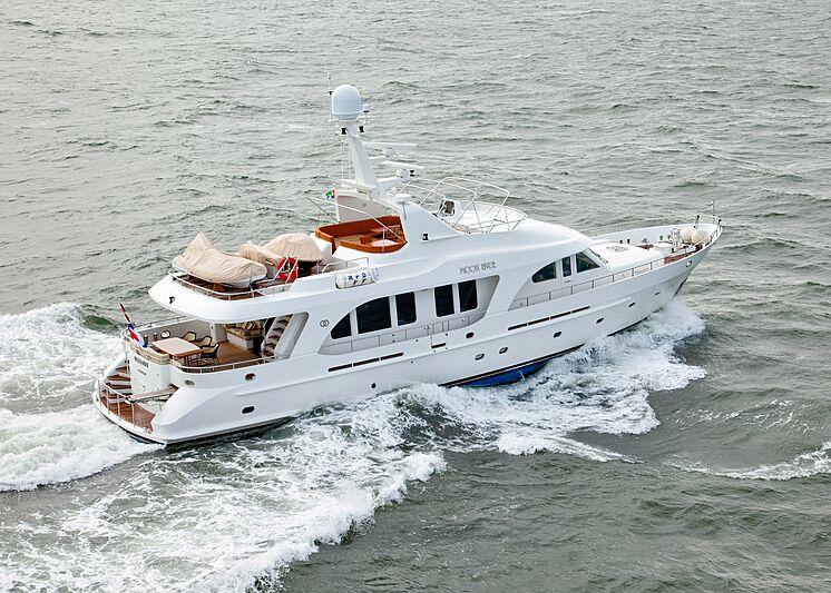 Moon River yacht cruising