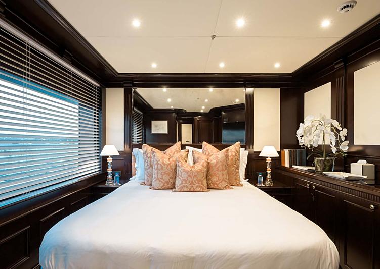 Eleni yacht stateroom