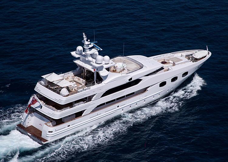Eleni yacht cruising