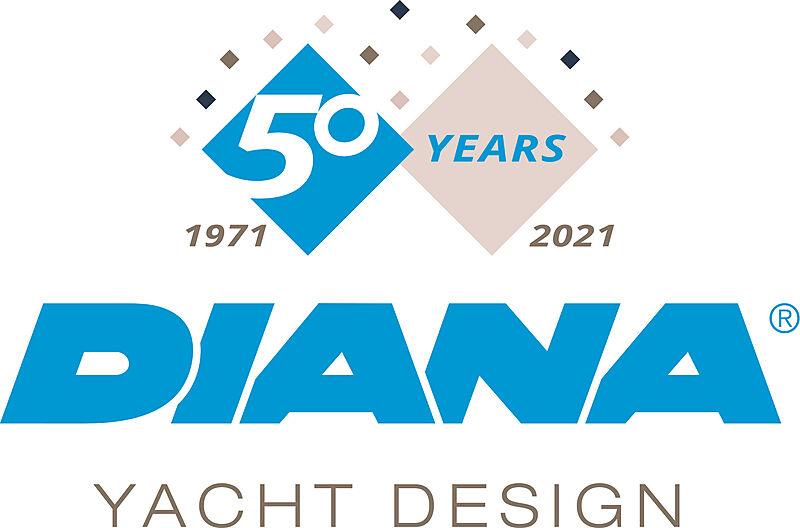 Diana yacht Design logo