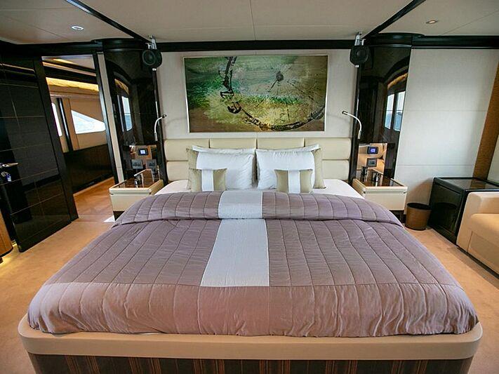 Shamal yacht stateroom