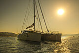 Ipharra yacht anchored