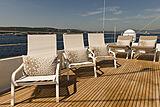 Ipharra yacht sun deck