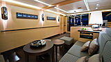 Ipharra yacht saloon