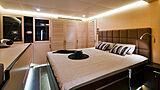 Ipharra yacht stateroom