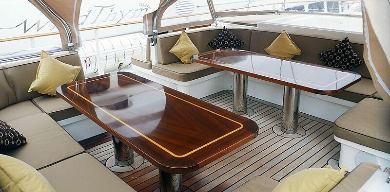 Sunny Hill yacht aft deck
