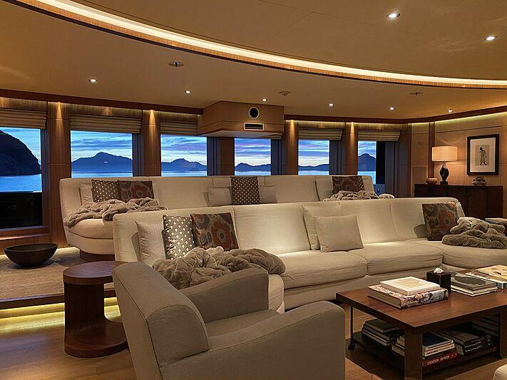 Seven Seas yacht cinema