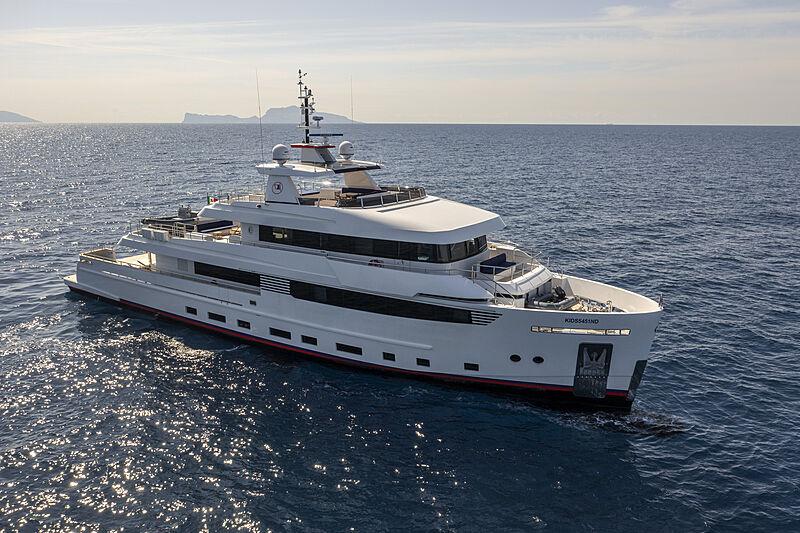 Crowbridge yacht anchored