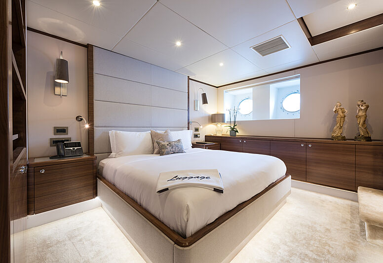Lady A yacht stateroom