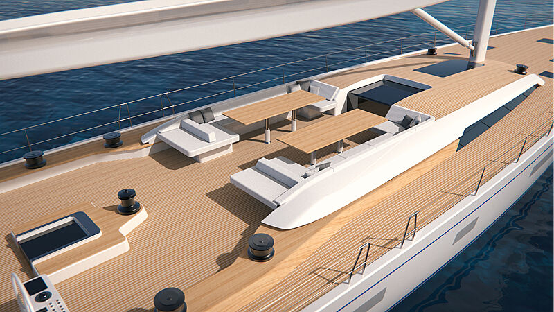 Swan 108 yacht exterior design