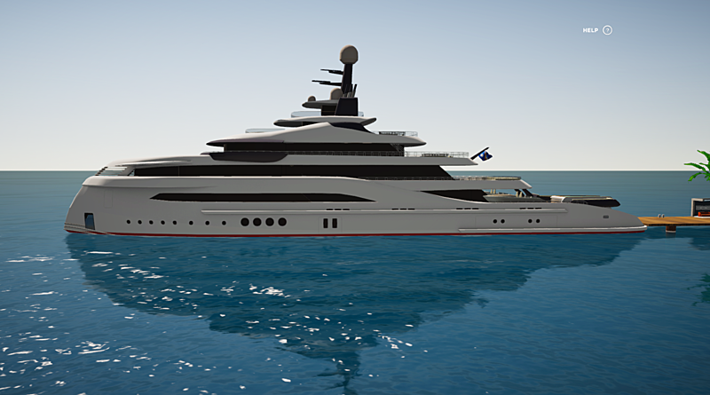 X-Sky 75 yacht by Marco Casali in SYT 3D