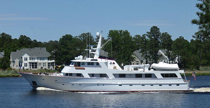 Buckpasser yacht in Chesapeake, Virginia